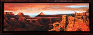 Grand Canyon met lijst