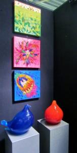 Groen, roze en Pauw-Blauw op expositie in Amsterdam (519x1024)
